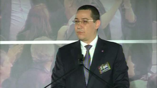 Victor Ponta, la final de bilanţ: USL a promis premier PSD şi preşedinte PNL şi ne-am ţinut de cuvânt