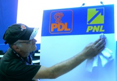 PNL plateste pentru fuziune. PDL incearca sa preia conducerea