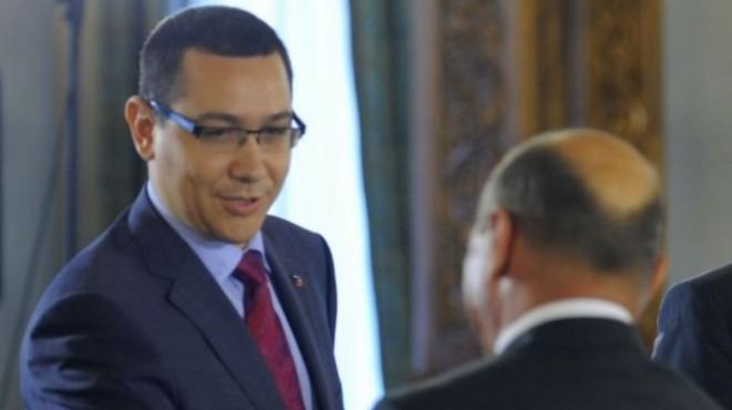 Victor Ponta, atac la Băsescu: Aştept breaking news-ul când o să ajungă lângă doamna Udrea