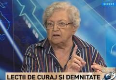 Lecţii de curaj şi demnitate cu Draga Olteanu Matei: Nu mă aşteptam ca domnul Iohannis să fie părtinitor
