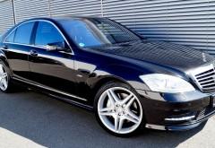 Iohannis, pas cu pas spre limuzina de lux Mercedes S500 4 Matic