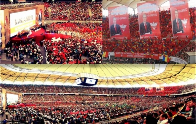 SURSE: Liderii PSD cer miting uriaş pentru susţinerea lui Victor Ponta