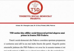 TSD sustine numirea unui primar in functia de presedinte al PSD Prahova