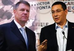 Victor Ponta, atac la Iohannis: În ultimele două luni s-a comportat ca un preşedinte PNL