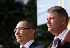 Klaus Iohannis s-a întâlnit cu Victor Ponta la Cotroceni