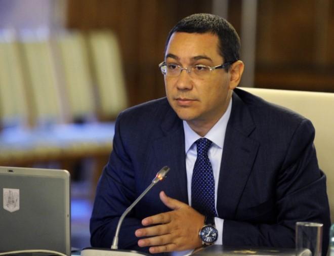 Victor Ponta se întâlnește marți cu omologul său moldovean