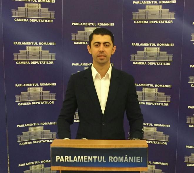 Ce a spus deputatul Vlad Cosma în Parlament