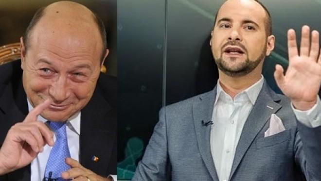 """Traian Băsescu îl atacă DUR pe Silviu Mănăstire: """"Mănânci c...t după model Antena 3"""""""