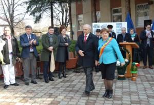 Mircea Cosma a participat la dezvelirea bustului lui Nicolae Ştefan Casso în Republica Moldova FOTO