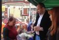 Raul Petrescu, de vorba cu producatorii din Piata Halelor Centrale