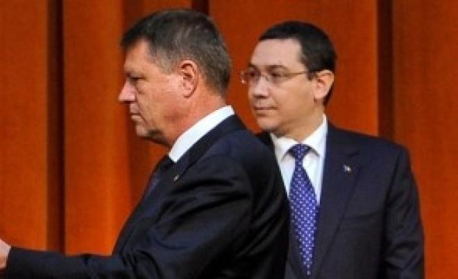 """V. Ponta: """"Regimul Traian Băsescu este tot acelaşi, doar că nu se mai numeşte Traian Băsescu, se numeşte Klaus Iohannis"""""""