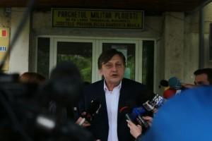 DECLARAŢIILE lui Crin Antonescu la ieşirea de la DNA Ploieşti