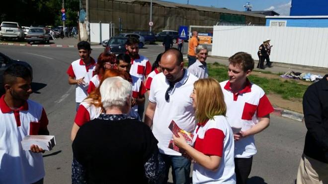 Candidatul UNPR Raul Petrescu vrea să dezvolte Oborul din Ploieşti FOTO
