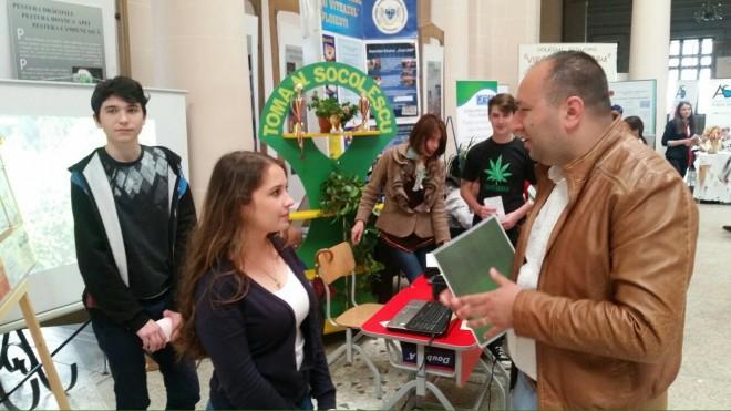 Raul Petrescu, prezent la Târgul Educațional din Ploiesti. Care au fost concluziile candidatului UNPR