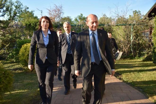Traian Basescu vine la Ploiesti sa o sustina pe Catalina Bozianu