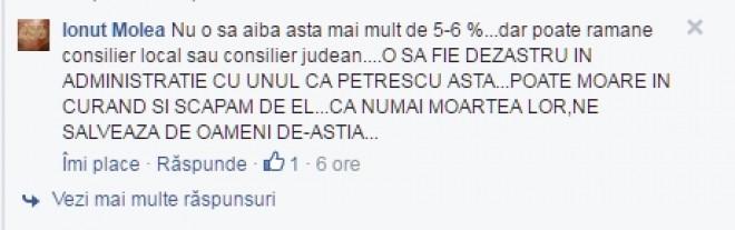 Raul Petrescu, amenitat cu moartea!
