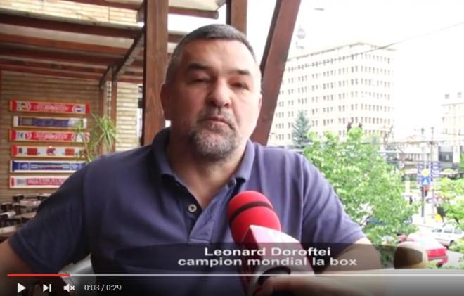 Leonard Doroftei il sustine pe Cristian Ganea la Primaria Ploiesti