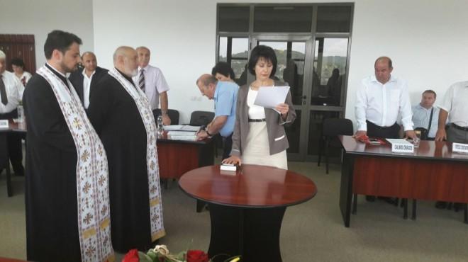 Liliana Mareş (PSD) este noul viceprimar al oraşului Vălenii de Munte