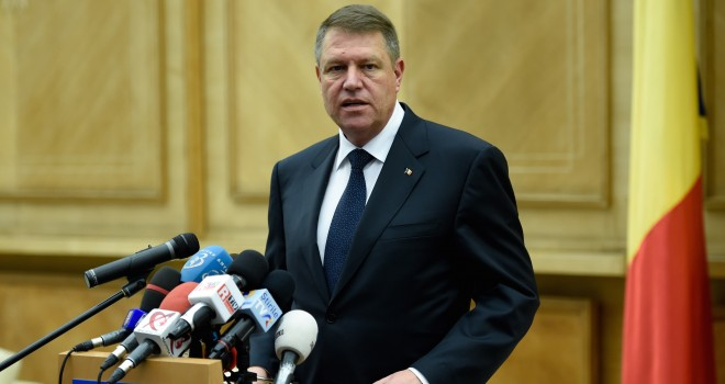 Preşedintele Klaus Iohannis, mesaj despre riscul terorist în România
