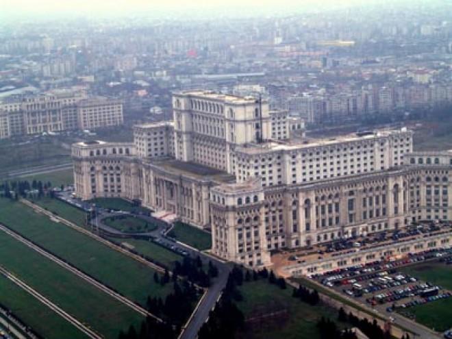 Incendiu la Palatul Parlamentului, din cauza unui scurtcircuit la instalaţia electrică