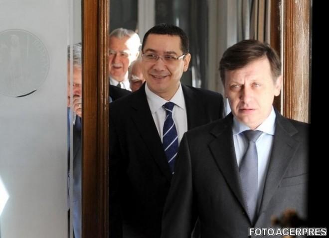 Ponta cutremură scena politică: Cine și de ce l-a îndepărtat pe Antonescu