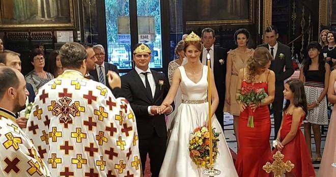 Nunta mare in politica prahoveana. S-a insurat europarlamentarul Laurentiu Rebega