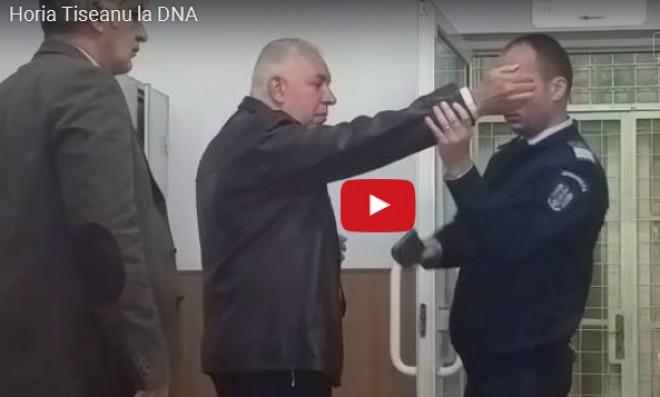 Tiseanu, acuzat ca i-a pus mana la ochi politistului, la DNA