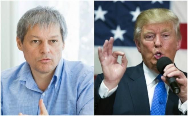 Tolontan devoalează ipocrizia: Ceea ce ce oripilează la Trump ne încântă la Cioloș