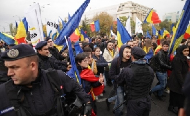 PNL le-a dat ȚEAPĂ unioniștilor care au protestat în București / UPDATE