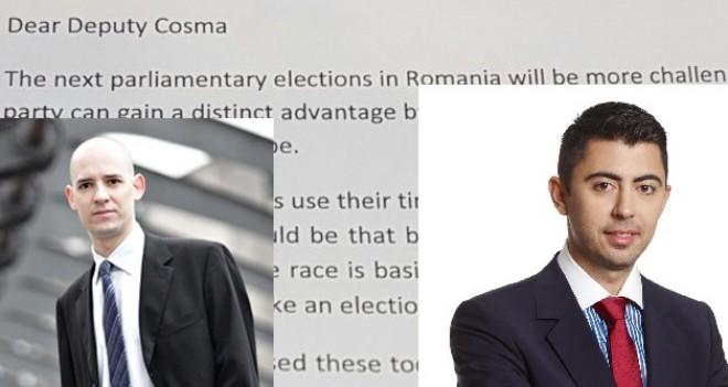 Specialistul in campanii electorale Louis Perron, invitatie INEDITA pentru deputatul Vlad Cosma