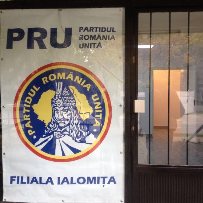 PRU si-a deschis sedu judetean in Ialomita. Raul Petrescu, fruntas pe lista pentru deputati
