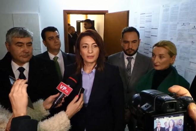 PMP si-a depus listele pentru parlamentare /VIDEO Catalina Bozianu