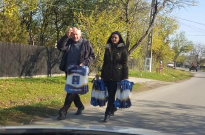 În atenţia DNA: PNL Prahova a început să împartă POMANĂ ELECTORALĂ  FOTO