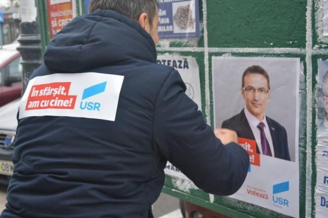 Poliția cercetează campania electorală a USR Prahova