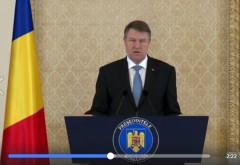 """Klaus Iohannis: """"Desemnarea premierului va avea loc dupa Craciun"""""""