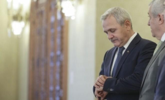 Doi dintr-o lovitură: Liviu Dragnea 'îi răpune' pe Klaus Iohannis şi Dacian Cioloş / VIDEO