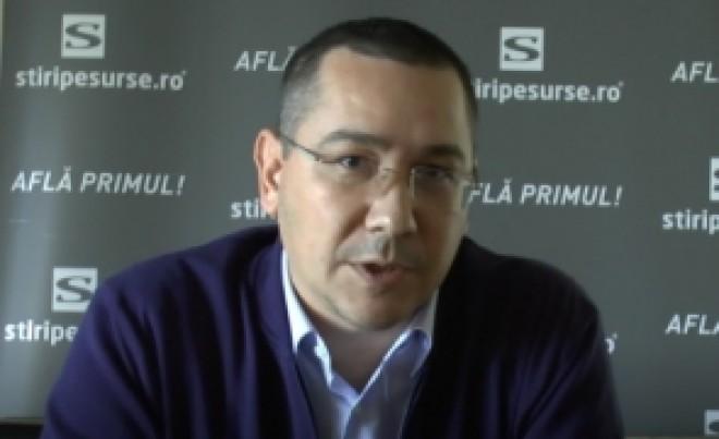 Victor Ponta îi dă replica lui Klaus Iohannis la referendum: 'GHINION'