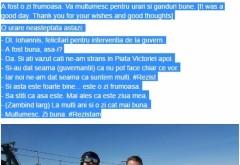 Klaus Iohannis, dialog HALUCINANT pe pârtia de schi: Ce i-a spus unui protestatar / FOTO