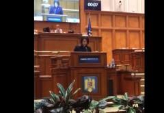 """Catalina Bozianu, deputat PMP: """"Parlamentul trebuie să-şi recâştige respectul şi de la Guvern"""""""