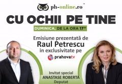 """Roberta Anastase, invitata in emisiunea """"Cu ochii pe tine"""", duminica, la Prahova TV"""