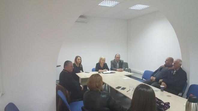 Deputatul Rodica Paraschiv a tinut audiente la Baicoi. Ce s-a discutat
