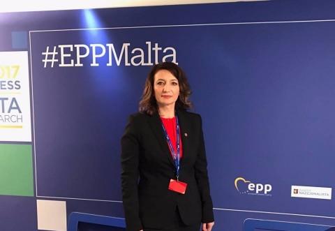 Deputatul Catalina Bozianu, prezenta la Congresul PPE, la discutiile privind Brexit-ul