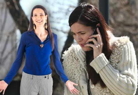 """După ce a fost debarcată de la EGIS România, pe """"franţuzoaica de la Primărie"""" a cuprins-o panica. De cine se ascunde Clotilde Armand când vorbeşte la telefon?!"""