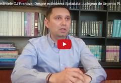 Preşedintele Bogdan Toader, despre investiţiile in noua cladire a Spitalul Judeţean de Urgenţă Ploieşti