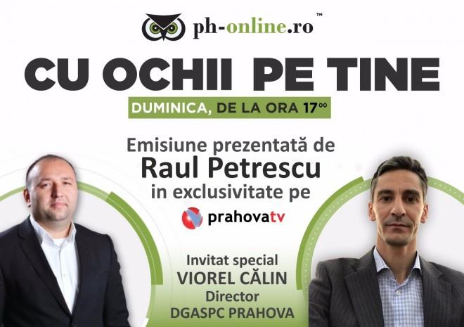 """Directorul DGASPC Prahova, invitat special in emisiunea """"Cu ochii pe tine"""", duminica, pe Prahova TV"""