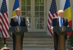 LIVE TEXT și VIDEO! Trump: Abia aştept să colaborăm ca să întărim comerţul şi legăturile dintre cele două ţări