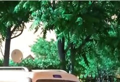 In atentia Politiei/ Candidatul PNL din Dumbrava duce oamenii la vot cu masina personala