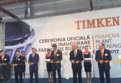 Inaugurarea noii fabrici TIMKEN, in Ploiesti West Park. Bogdan Toader, Andreea Cosma si Radu Oprea, printre invitatii lui Andreas Roellgen