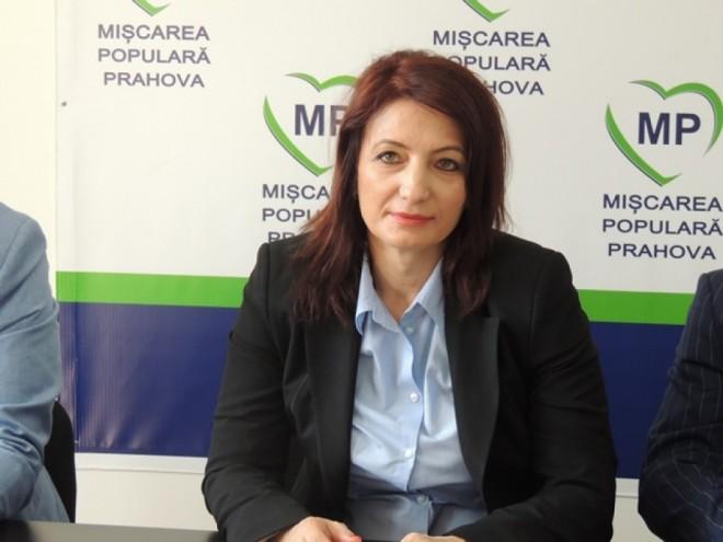 """Deputat Catalina Bozianu (PMP) -  """"Românii vor o țară guvernată în conformitate cu dorințele și cu interesele lor"""""""