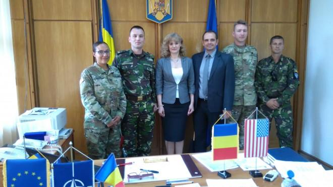 Delegaţie IMPORTANTĂ la Prefectura Prahova